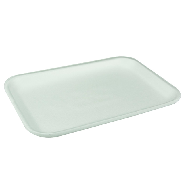 #2S WHITE SUPERMARKET TRAY
