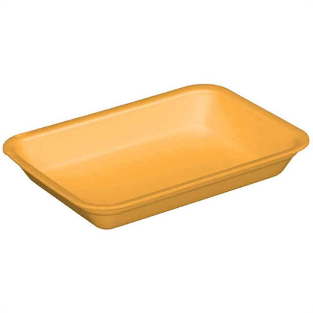 4D YELLOW HEAVYSUPERMARKET TRAY