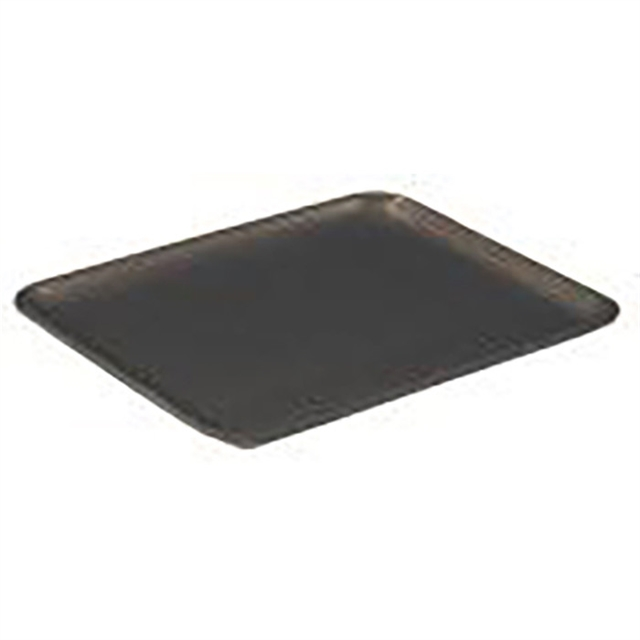 #12S BLACK MEAT TRAY