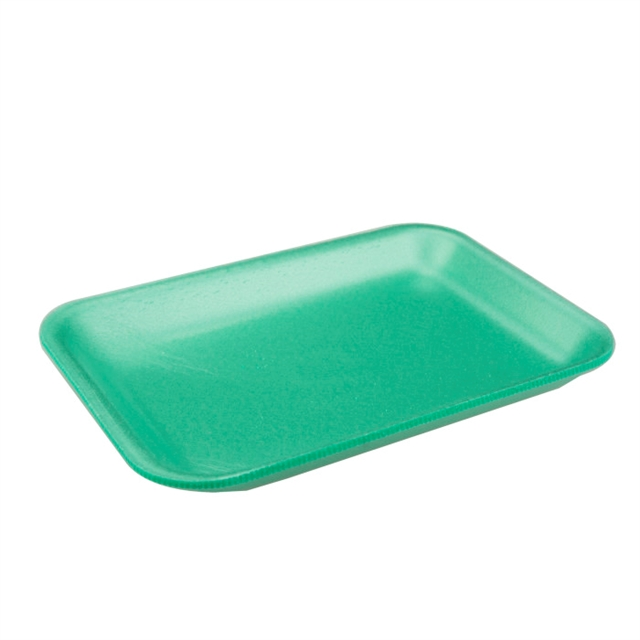 #2 GREEN PRODUCE TRAY