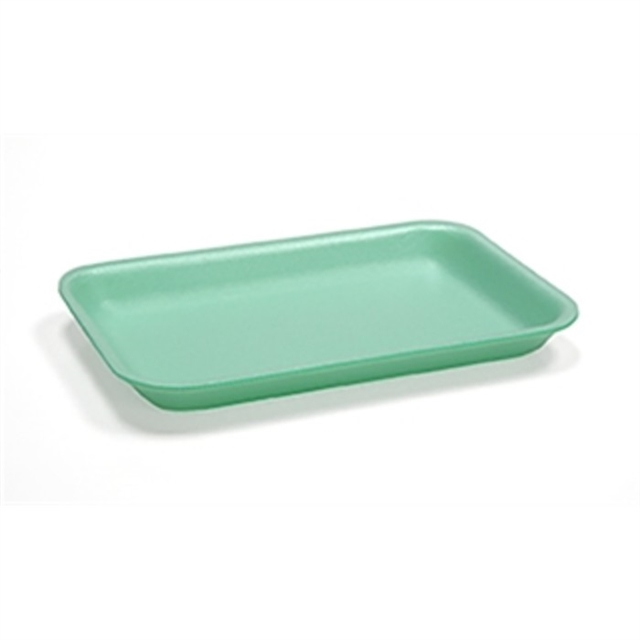 #5S GREEN MEAT TRAY