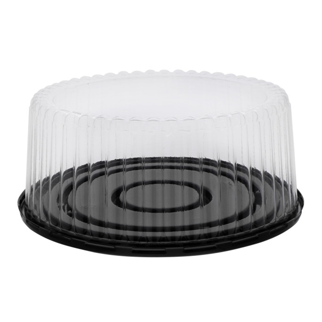 4in Tall Flutd Dome & Base for 8in Cake