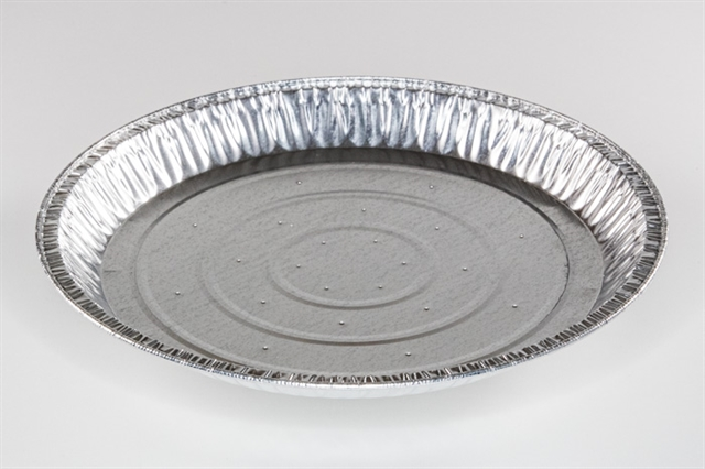 "12"" SHALLOW PIE PLATE PERF"