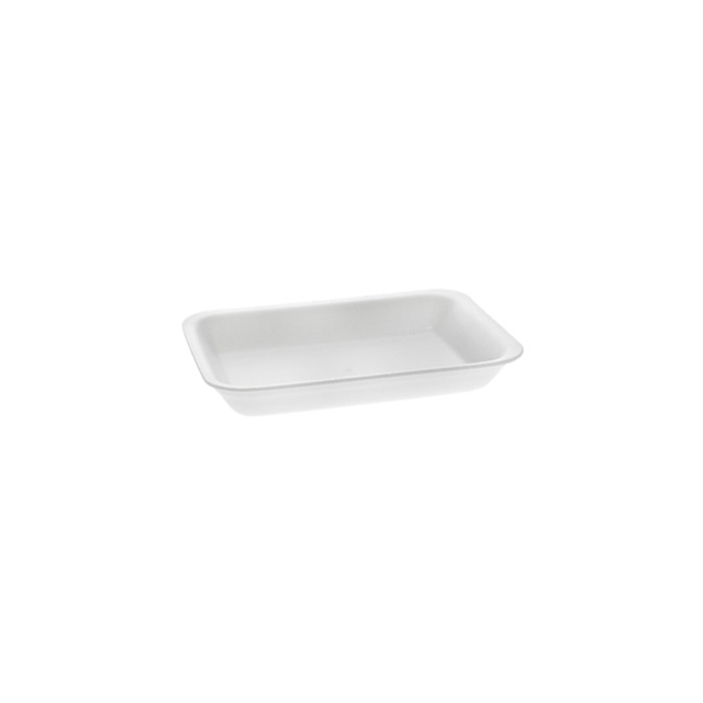 2PZ WHITE SUPERMARKET TRAY