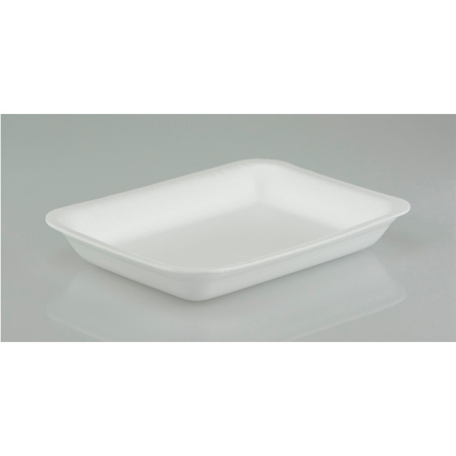 2RT WHITE SUPERMARKET TRAY