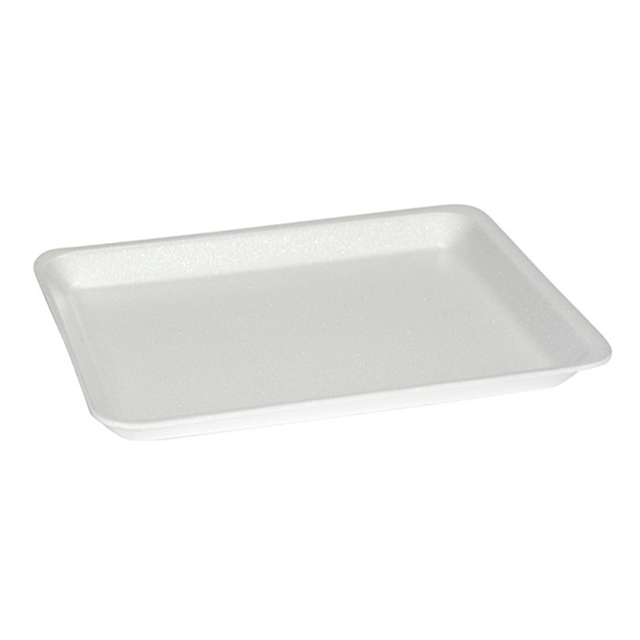8S WHITE HEAVY SUPERMARKET TRAY