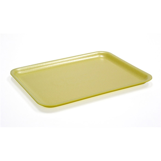 20S YELLOW FOAM SUPERMARKET TRAY