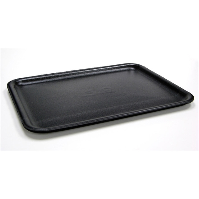 10X14 BLACK SUPERMARKET TRAY