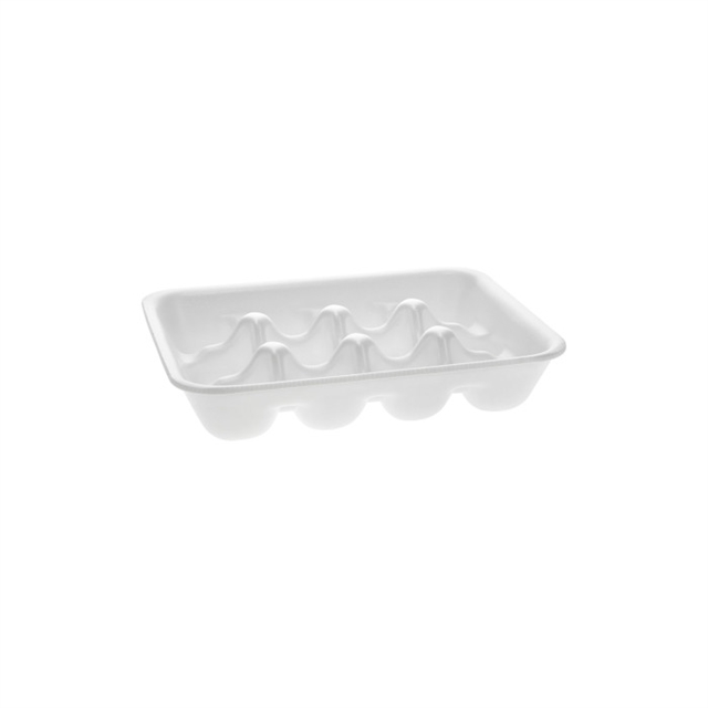 4P WHITE 12 CELL MEATBALL PROC TRAY