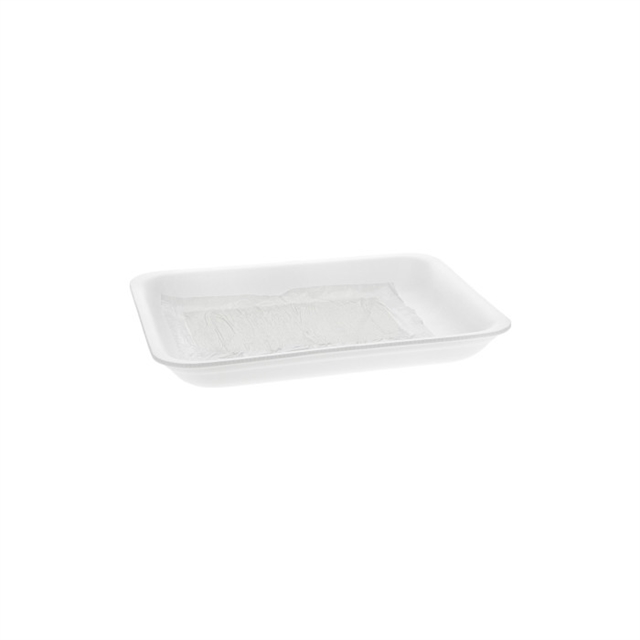 4P WHITE XH PROCESSOR TRAY W/ SAP PAD
