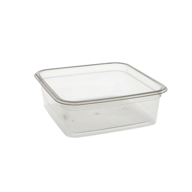 6 in Square 24 oz. Container