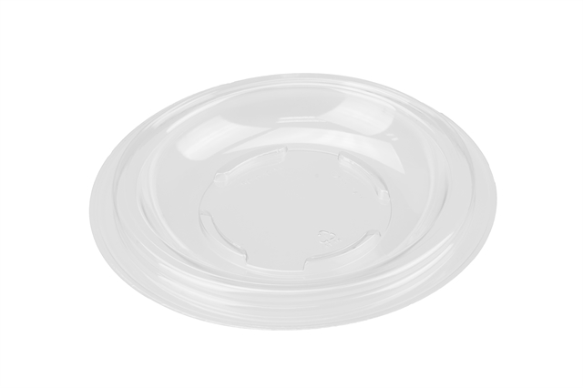7 in Dome Lid w Dip Holder