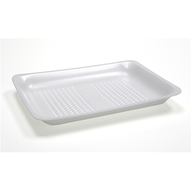 8D WHITE PROCESSOR TRAY W/ SAP PAD