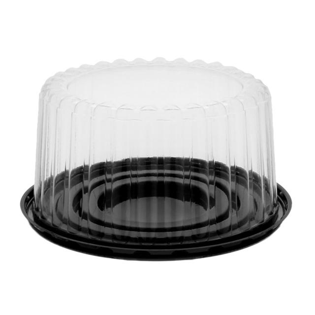 4in Tall Flutd Dome & Base for 6in Cake