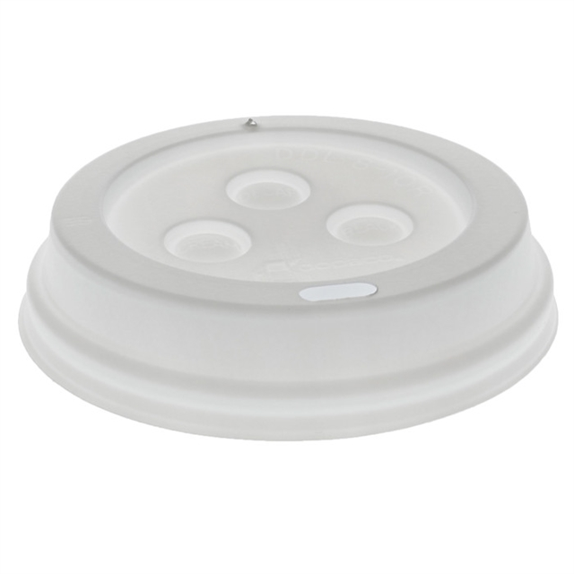 ST CL HOT 08Z WHITE DOME HOT LID 1000