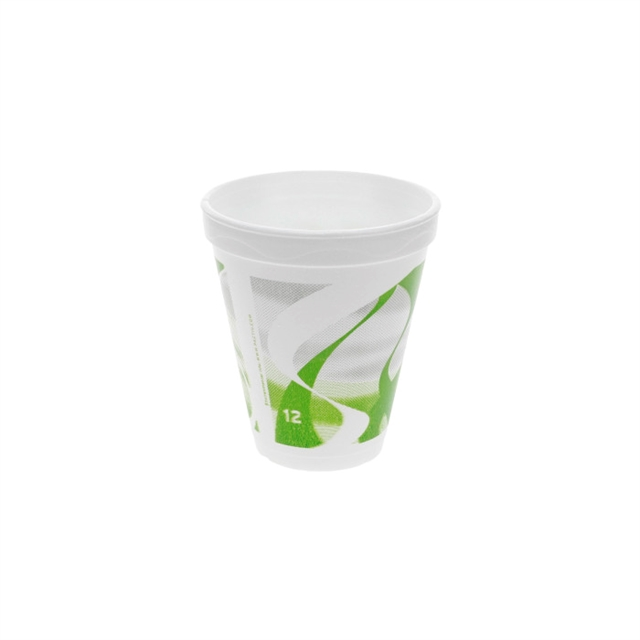 12OZ EPS FOAM PRT CUP WAVES 25-40