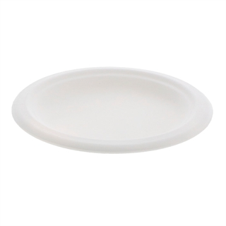 "EARTHCHOICE 6"" BAGASSE PLATE"