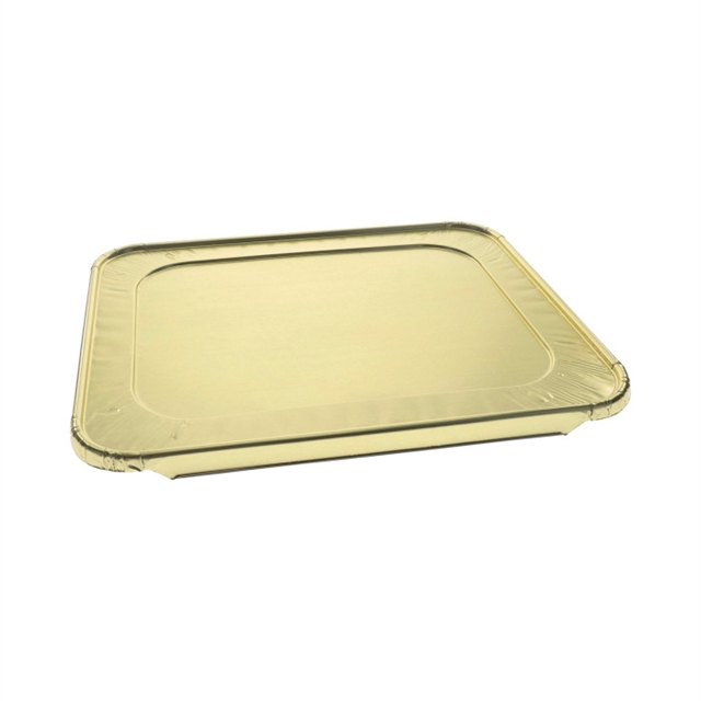 HALF SIZE FLAT FOIL COVER GOLD