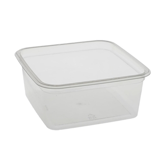 6 in Square 32oz Container