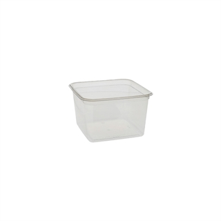 6 in Square 48oz Container