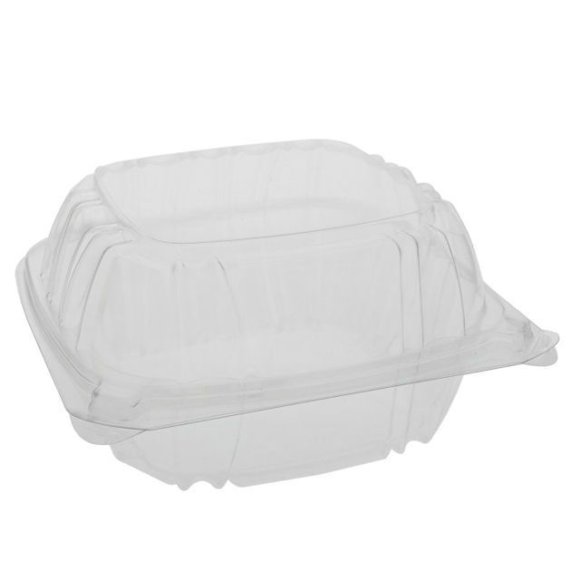 "OPS SENS 6"" HINGED LID SANDWICH-CLEAR"