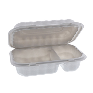 MFPP HOAGIE 9 X 6 2 COMPT-WHITE