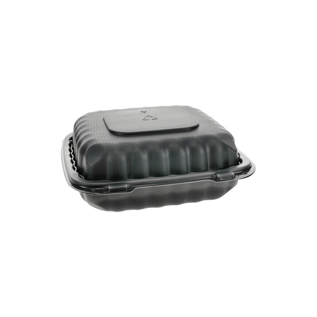 MFPP HINGED LID 8 X 8 - 1 COMP BLACK
