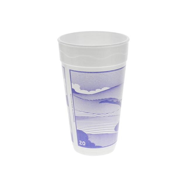 20OZ EPS FOAM PRT CUP VISTA 20-25