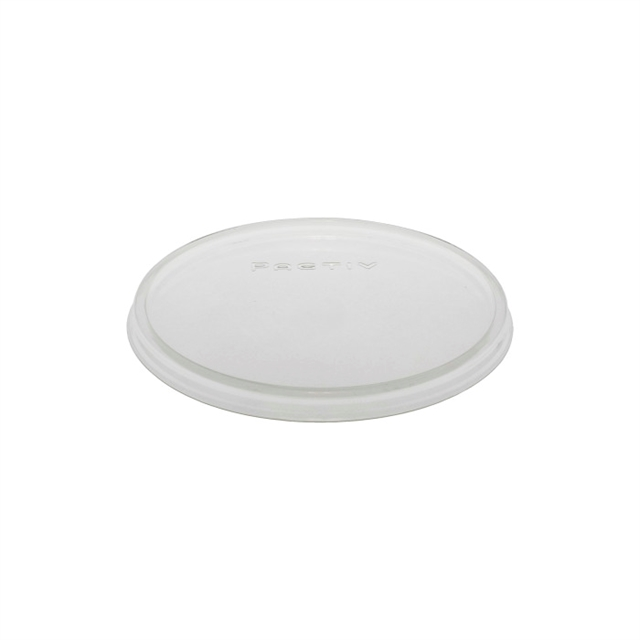 Flat, Non-Vented Clear Q Lid 10-100