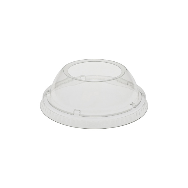 PET B size dome lid for EPS cups