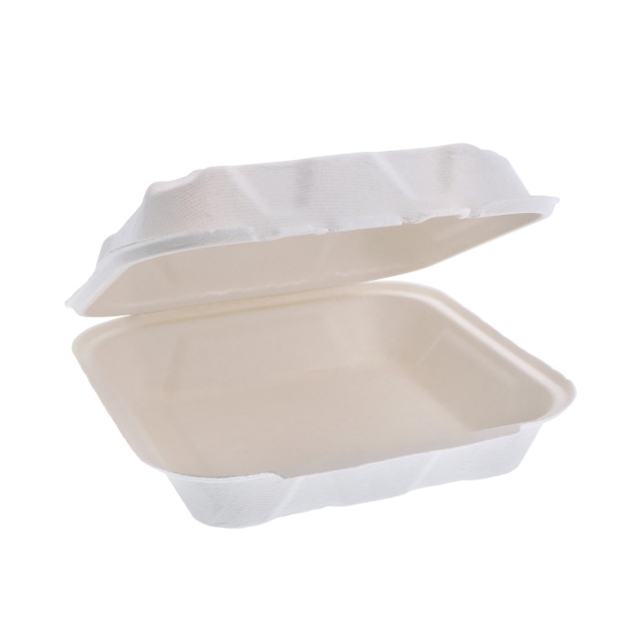 EARTHCHOICE 8 X 8 - 1 CMPT BAGASSE DUAL