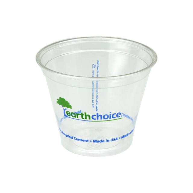 EarthChoice 9oz RPET Clear Prntd Cup