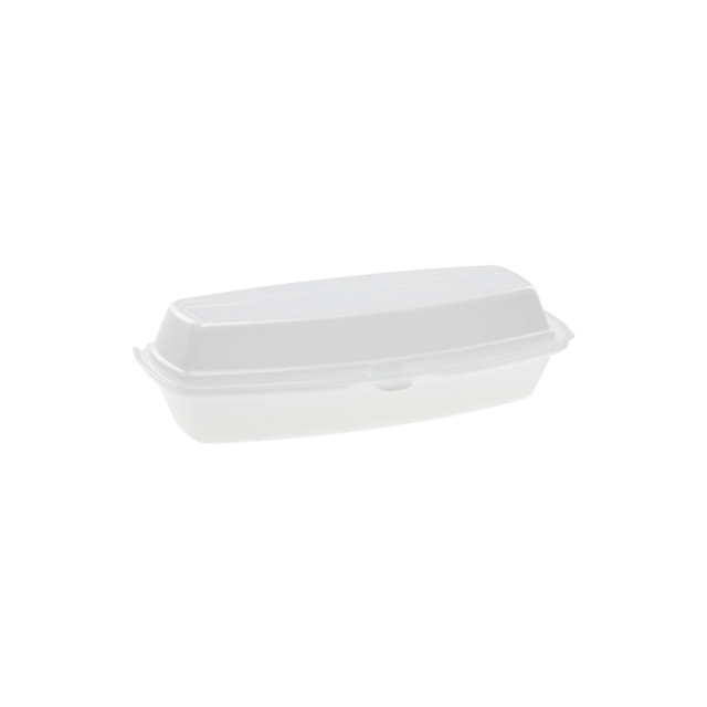 "Hot Dog Container 7 1/4"" x 3"" Sysco"