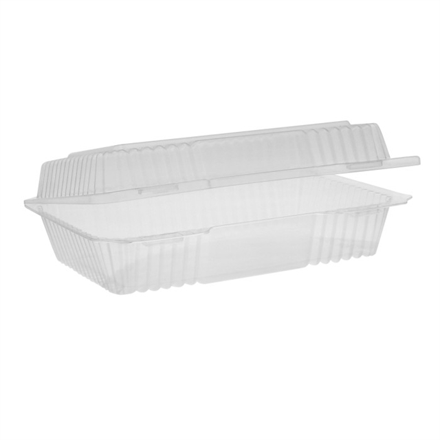OPS CLEARVIEW 1 COMP HINGED LID-CLEAR
