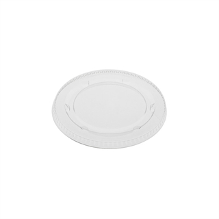3oz PLA Clear Flat Lid for Portion Cup
